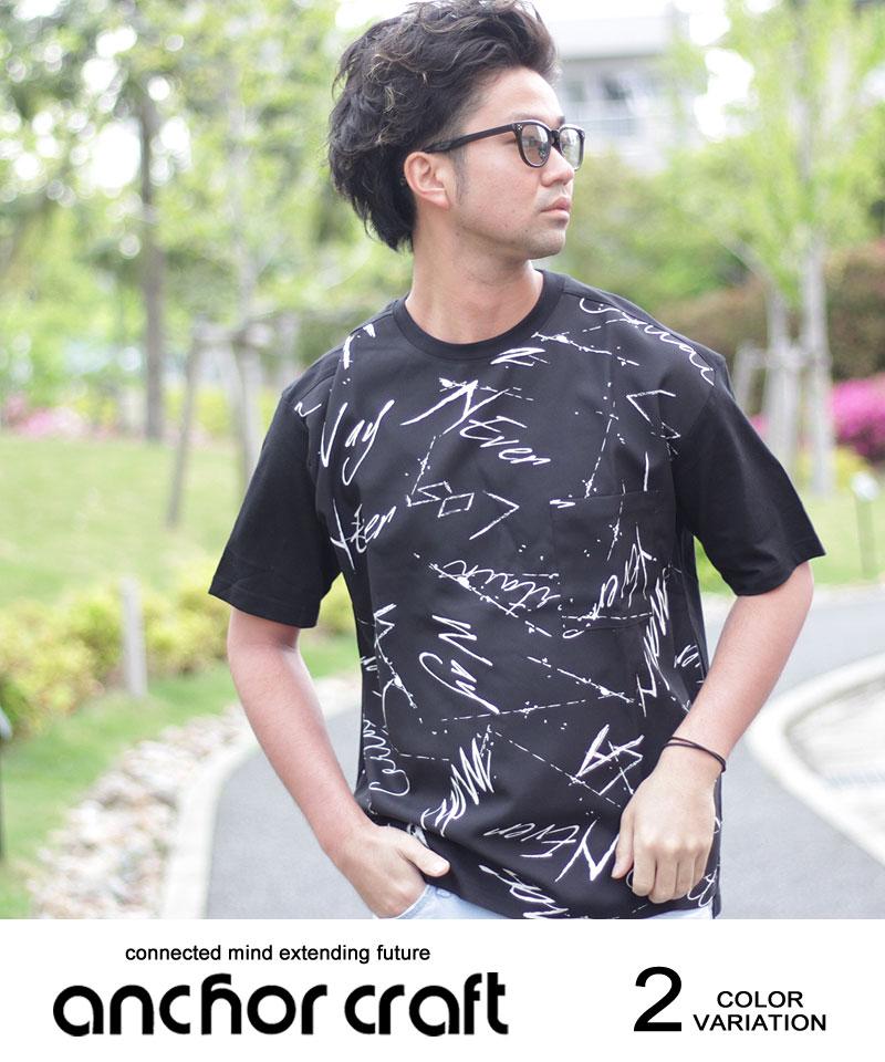 グランジプリントTシャツ