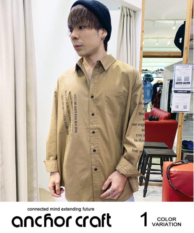 フォトプリントビックシャツ