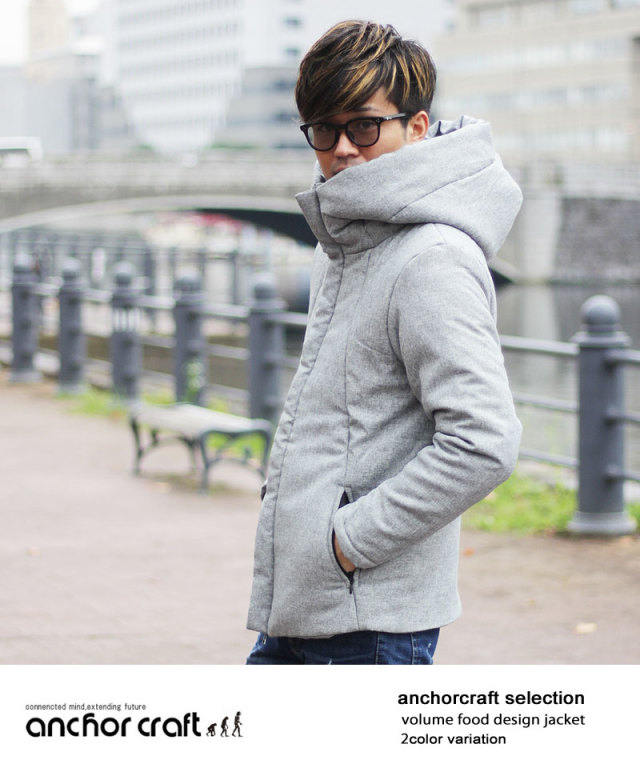 BIGフード中綿ジャケット