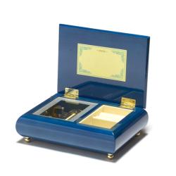 艶やかで上品なBOX ミーティス ブルー 小さな世界
