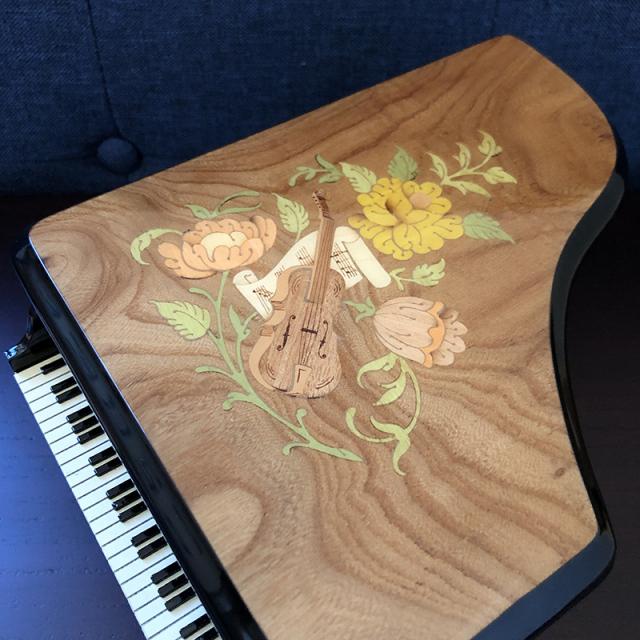 ピアノ 象嵌 30弁 オルフェウス サンキョー