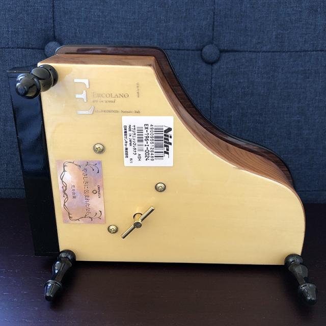 ピアノ 象嵌 30弁 オルフェウス サンキョー裏