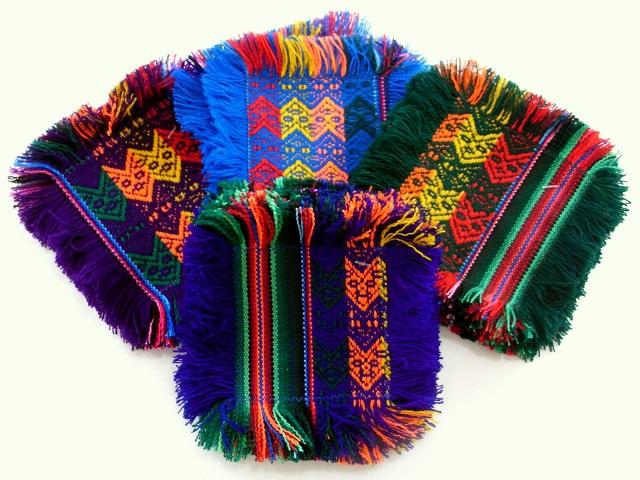 ペルー製マンタのコースター