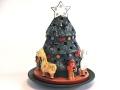セラミカ キャンドルホルダー クリスマスツリー