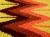 ペルー製手織りウールコースター2枚セット