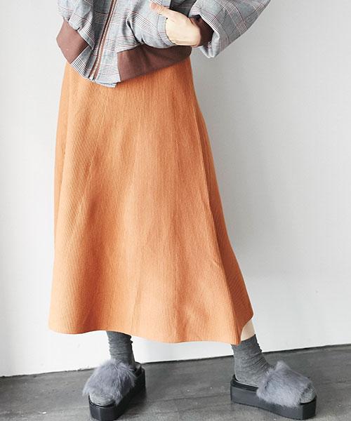 ロングフレアスカート 73-119576