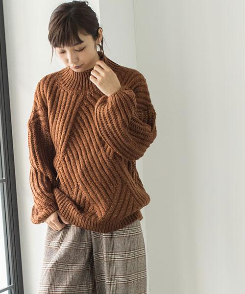 パターンデザインセーター 73-120146