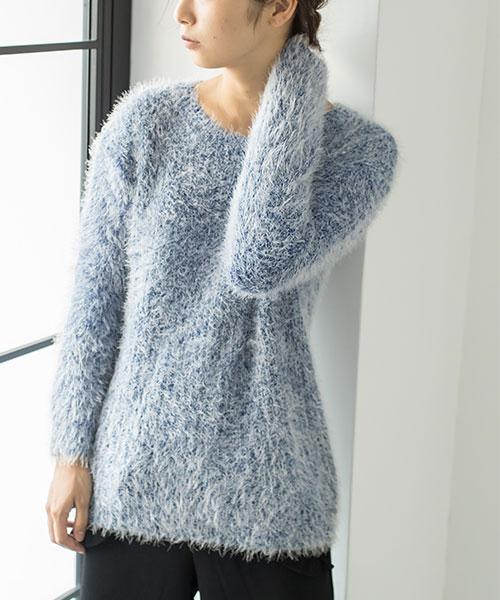 ふんわりシャギーセーター 73-120148