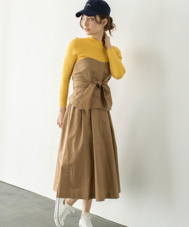 ビスチェ×スカートセットアップ 73-122680