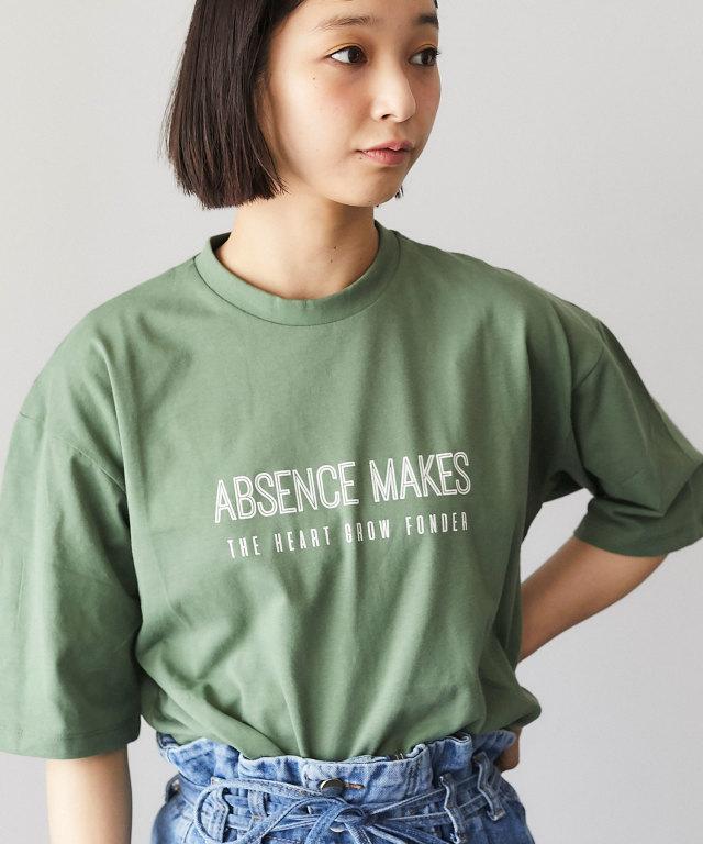 オーガニックコットンロゴTシャツ 73-124336