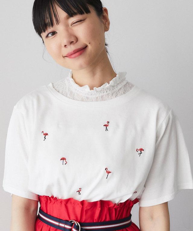 フラミンゴTシャツ 73-127667【SALE品につき返品/交換不可】