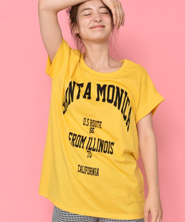 SANTAMONICA Tシャツ 73-128452【SALE品につき返品/交換不可】