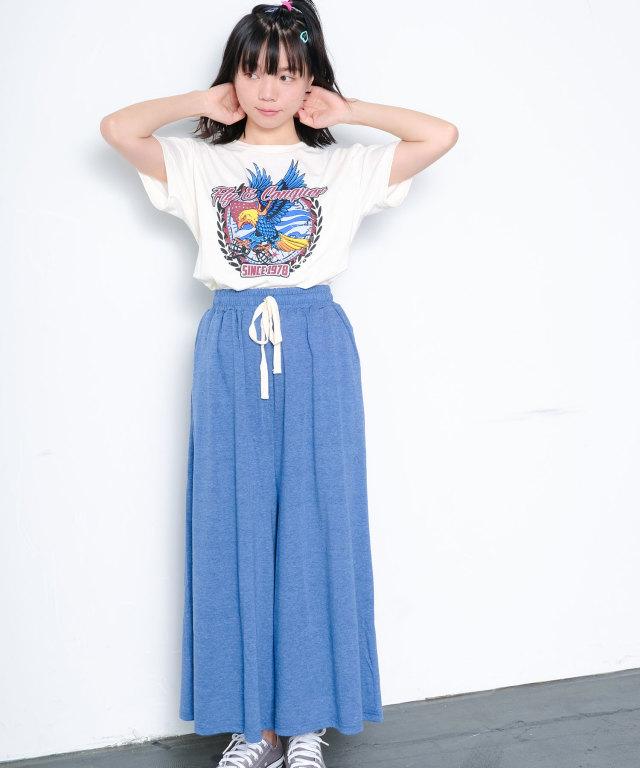 イーグルTシャツ×ワイドパンツ 73-129837