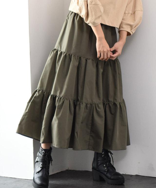 ティアードロングスカート 73-131062
