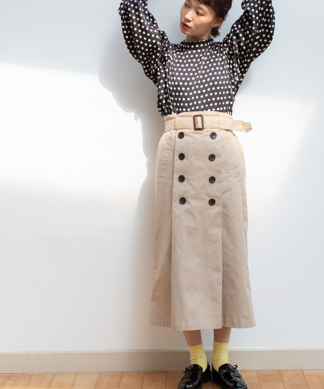 トレンチスカート 73-124331