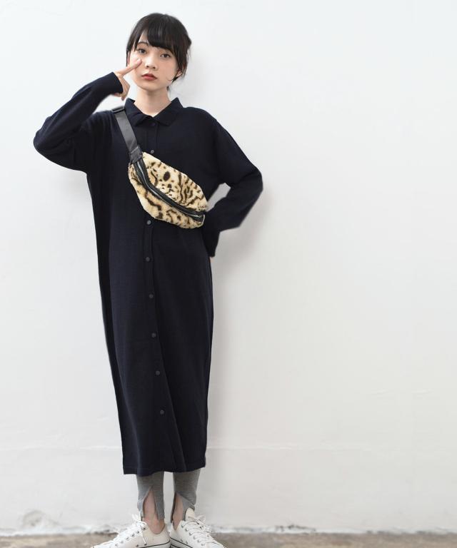 ニットロングシャツ 73-131593
