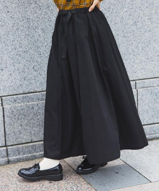 《mer 12月号掲載アイテム》ベルトテープスカート 73-131650