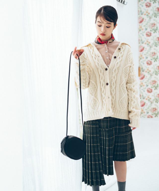 《今田美桜さんコラボ》パネルプリーツスカート 73-132624
