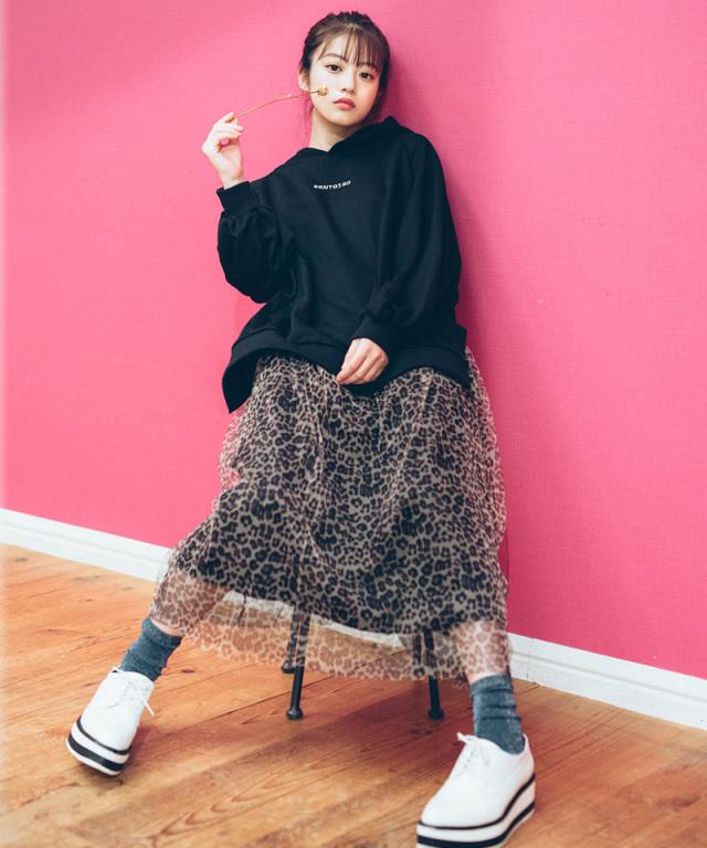 《今田美桜さん着用》チュールスカート 73-134099