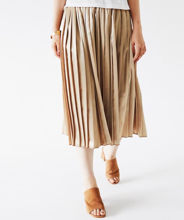 シャイニープリーツスカート73-137021