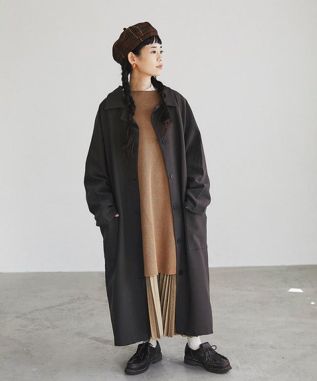 《11月2日 22:00再販決定》【@yuki_takahashi0706さんbuying item】ステンカラーコート73-144242