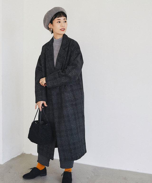 【@yuki_takahashi0706さんbuying item】チェック柄テーラードコート73-144243