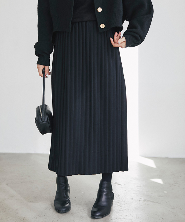 【@yuki_takahashi0706さんbuying item】ニットプリーツスカート73-144252