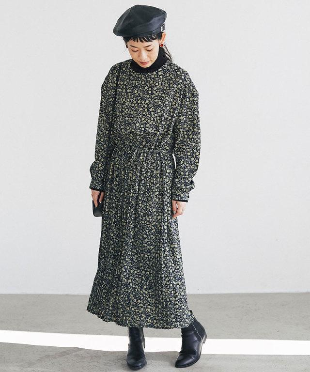 【@yuki_takahashi0706さんbuying item】フラワーワンピース73-144301※商品の発送は11/7(木)以降となります。