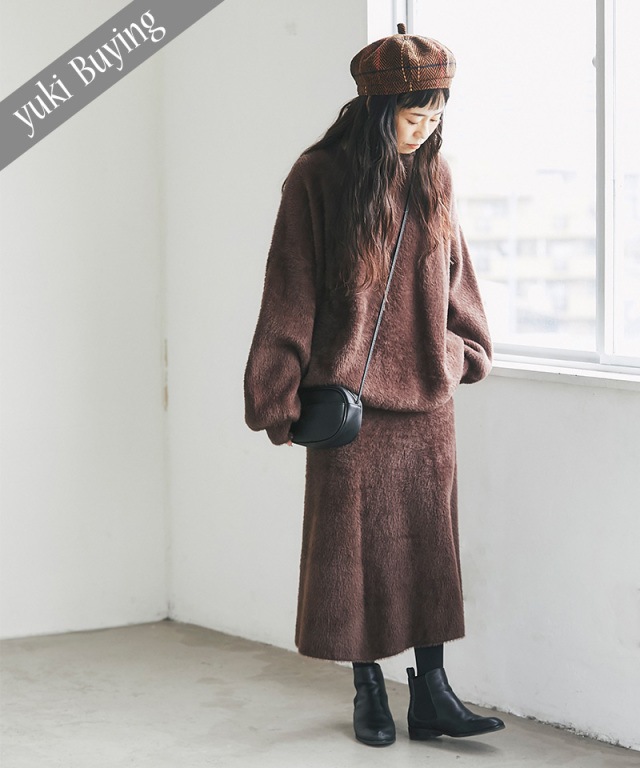 【@yuki_takahashi0706さんbuying item】シャギーニットセットアップ73-145750