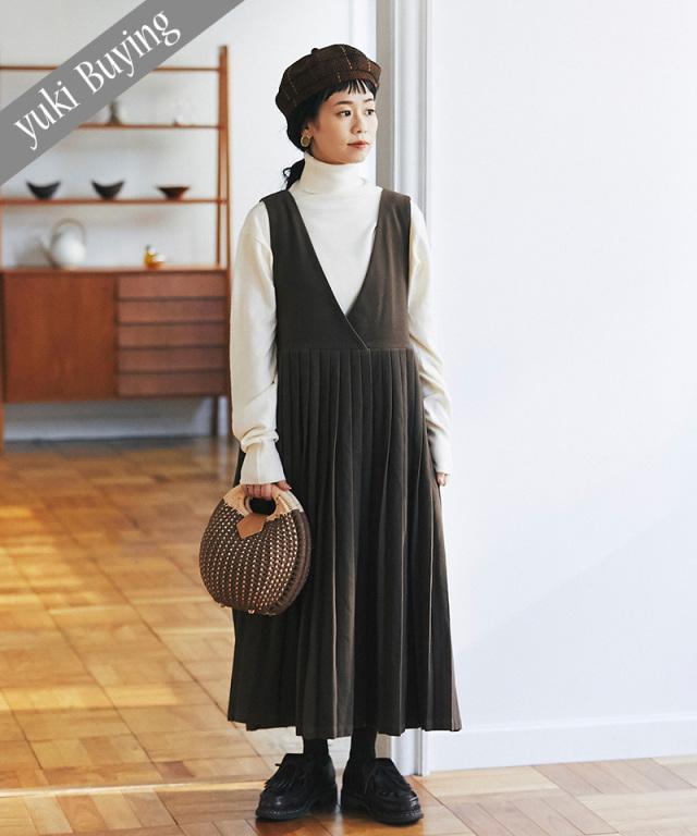 【@yuki_takahashi0706さんbuying item】プリーツジャンパースカート73-145752
