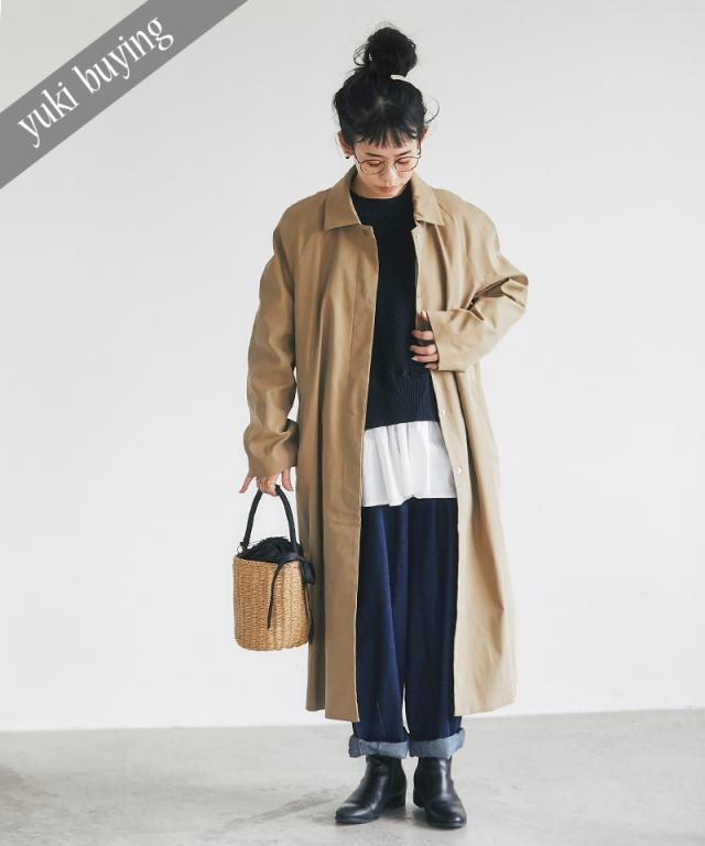 【@yuki_takahashi0706さんbuying item】2WAYステンカラーコート73-145765