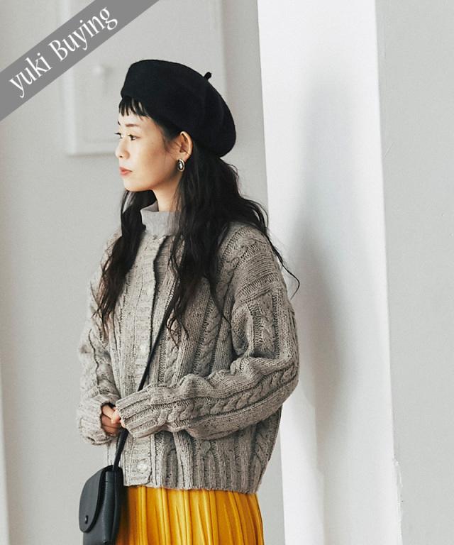 【@yuki_takahashi0706さんbuying item】ケーブル編みカーディガン73-145800