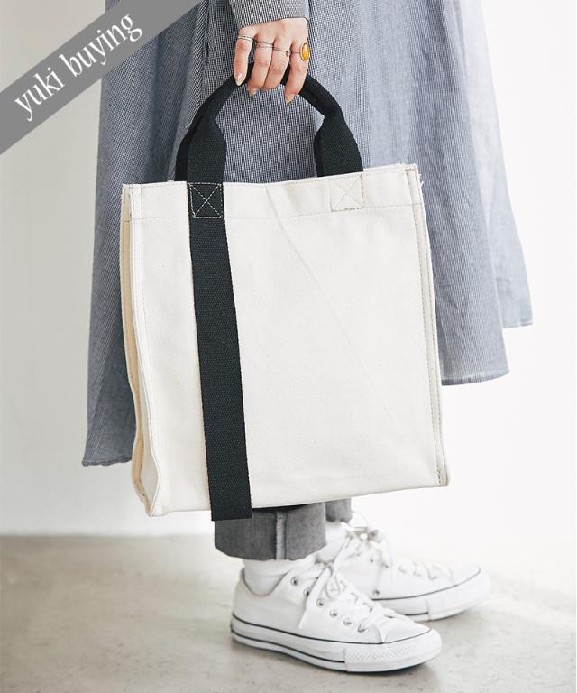 【@yuki_takahashi0706さんbuying item】キャンバスバイカラーバッグ73-145827