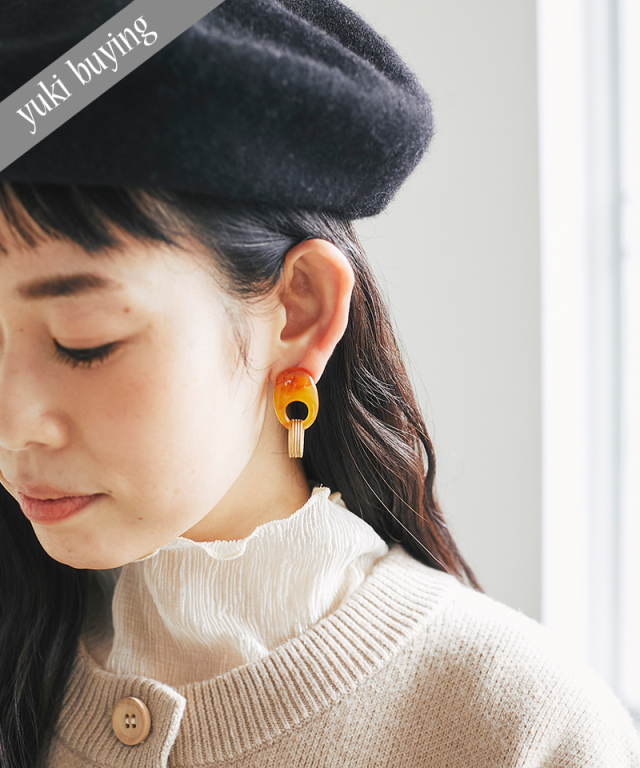 【@yuki_takahashi0706さんbuying item】アクリルリングピアス73-145835
