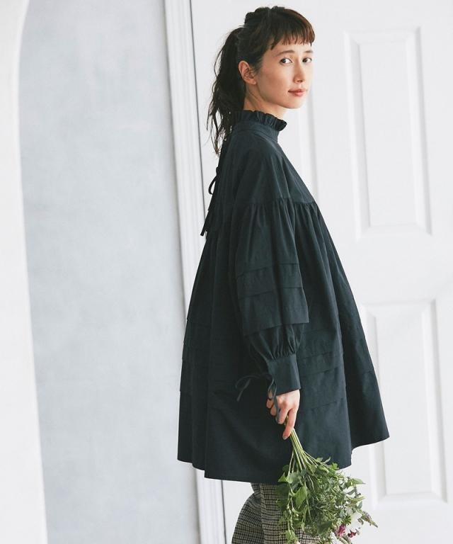 《kazumiさん着用》タックギャザーチュニック73-147037