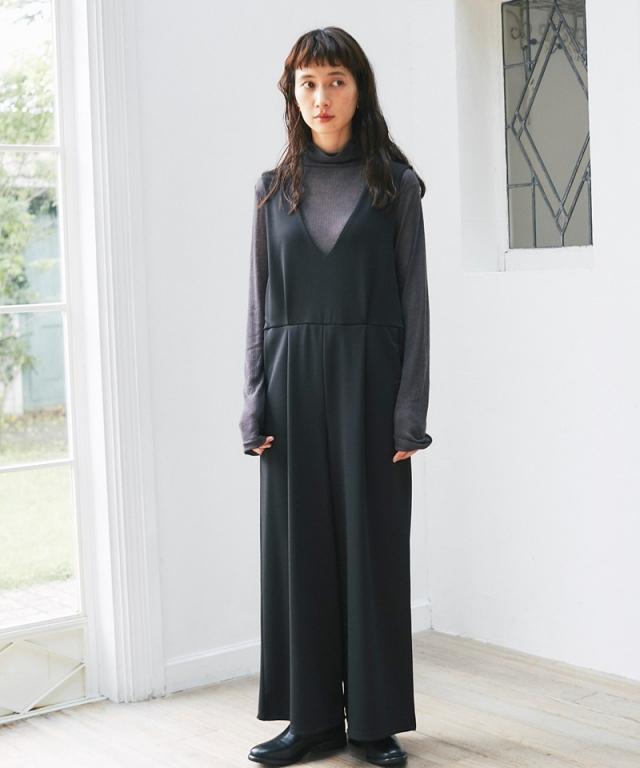 《12月7日 22:00再販決定》《kazumiさん着用》サロペット73-148490