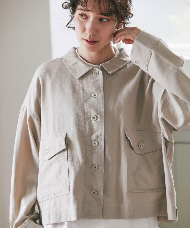 ミリタリーシャツジャケット73-156809