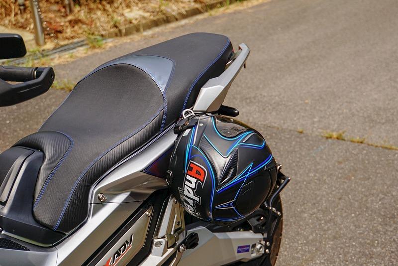 【X-ADV】【まずはコレ!】ヘルメットホルダー
