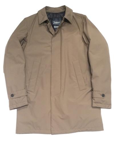 HERNO (ヘルノ)  Herno Laminar Stand Fall Collar Coat with Down GORE-TEX ステンカラーコート ( ダウン フェザー)