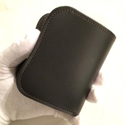 LAST CROPS (ラストクロップス) LC SPANKER1 二つ折り財布 MAREMMA(マレンマレザー) BLACK/クロ
