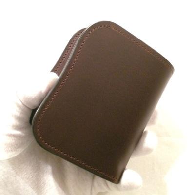 LAST CROPS (ラストクロップス) LC SPANKER1 二つ折り財布 MAREMMA(マレンマレザー) CHOCO/チョコ・ダークブラウン