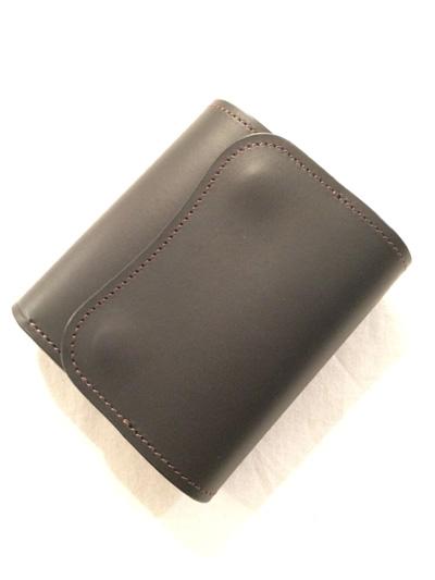 LAST CROPS (ラストクロップス) CASCADE 三つ折り財布 MAREMMA(マレンマレザー) BLACK/クロ