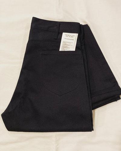 TUKI (ツキ) 0081 Cowboy Pants / カウボーイパンツ *Naval(Dark Navy)