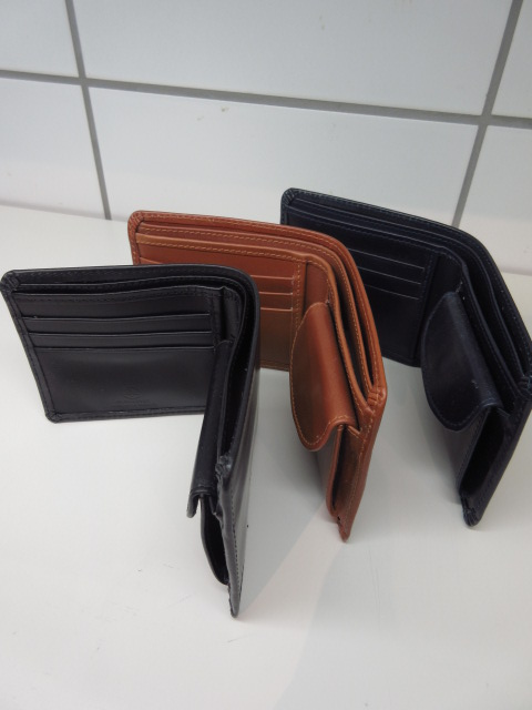 GLENROYAL (グレンロイヤル) 03-6171 【GLENROYAL HIP WALLET WITH DIVIDER (フルブライドルレザー)】DARK BLUE/OXFORD TAN/NEW BLACK