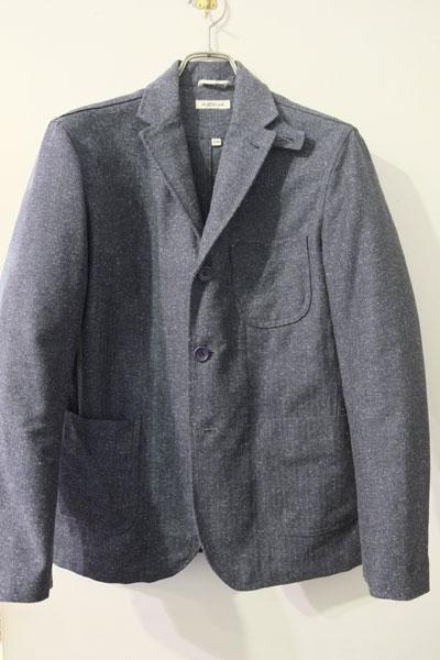 The Hill-side (ヒルサイド) Cotton Herringbone Tweed TAILORED JACKET  コットンツィード ワークジャケット 【different通販】