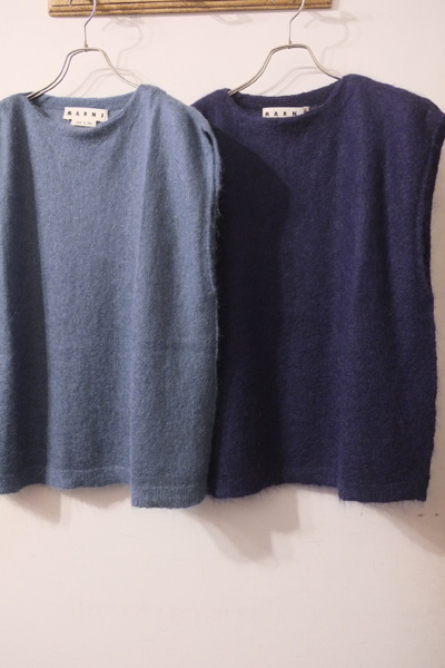 MARNI (マルニ)  Felted Mohair Treatment Knit Vest モヘア ニットベスト   【different通販】