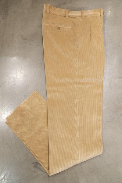 BERNARD ZINS ベルナールザンス BAC J 980 /Trousers  コーデュロイ 2プリーツパンツ