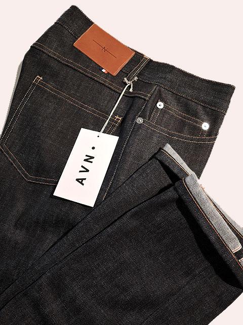 【MADE IN FRANCE】 AVN エーブイエヌ Jeans Selvedge Indigo Straight デニムパンツ