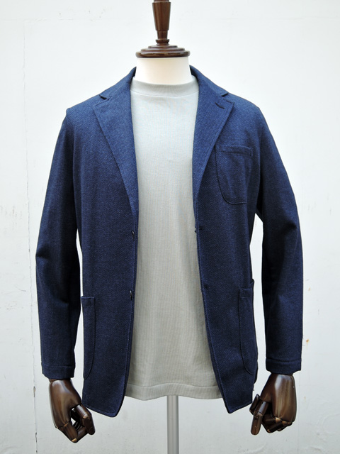 【MADE IN ITALY】 GUY ROVER (ギ・ローバー ) カジュアルジャケット DARK BLUE、LIGHT BROWN