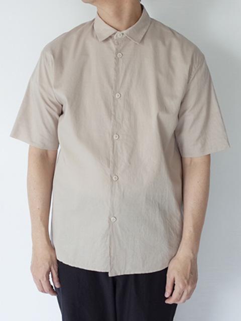 STILL BY HAND スティルバイハンド SH08201 無双仕立て ショートスリーブシャツ BEIGE、OLIVE